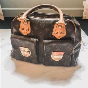 Vintage  Louis Vuitton Monogram Manhattan PM Bag
